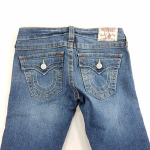 True Religion Billy Denim Jeans Flap Pocket Pants
